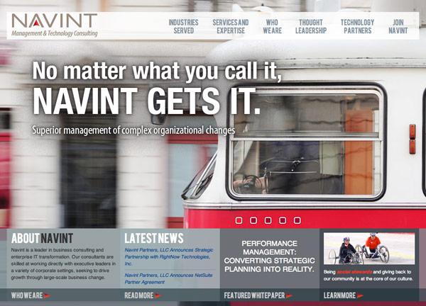 Navint Chicago Web Design