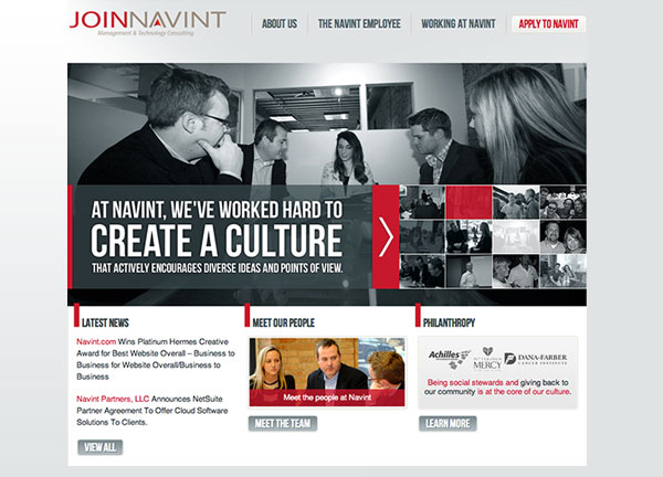 Join Navint Chicago Web Design